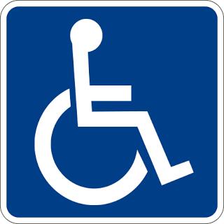 Resultado de imagem para simbolo do deficiente